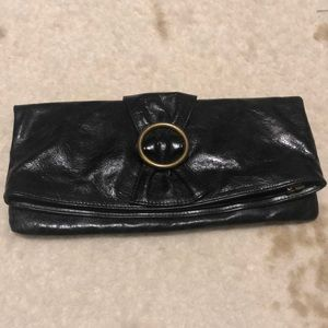 HOBO Black Clutch